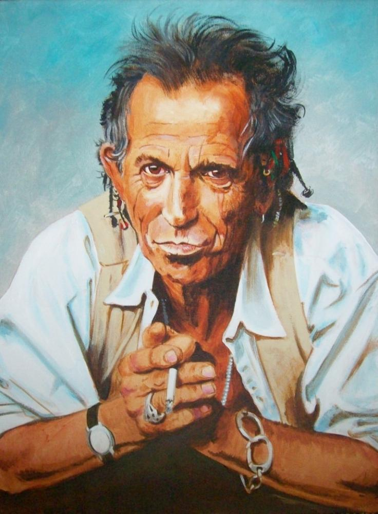 Keith Richards by Tom-Heyburn